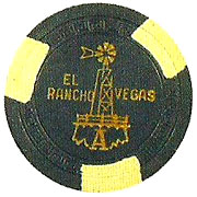 The El Rancho Poker Chip