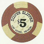 The Silver Slipper Poker Chip